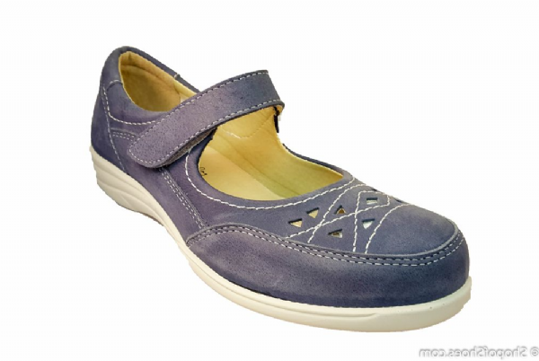 Astwood 2V variable fit Sky Blue pretty Mary-Jane style summer shoe.